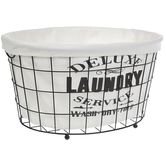 Deluxe Laundry Service Basket