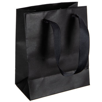 Gift Bags With Glossy Cuff