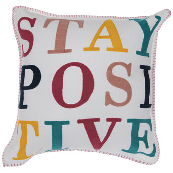 Stay Positive Pillow