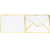 Envelopes With Gold Borders