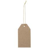 Paper Mache Gift Tag Ornaments