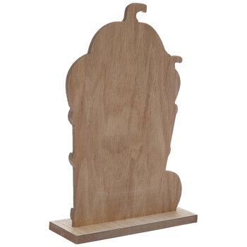 Pumpkin Basket Wood Decor