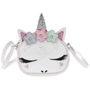 White Iridescent Unicorn Handbag