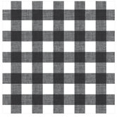 "Black & White Buffalo Check Scrapbook Paper - 12"" x 12"""