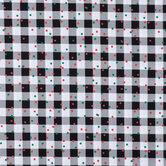 Buffalo Check & Confetti Cotton Apparel Fabric