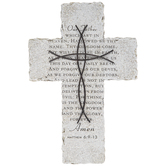 Matthew 6:9-13 Wall Cross