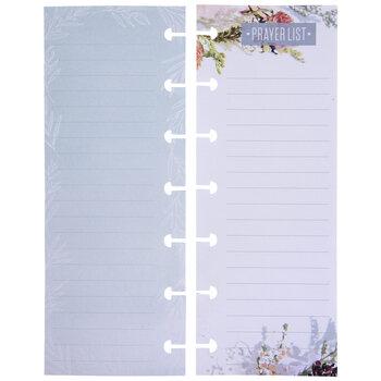 Prayer List Mini Happy Planner Paper