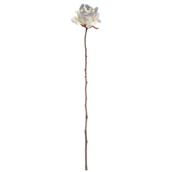 Metallic Rose Stem