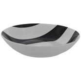 Black & White Striped Bowl
