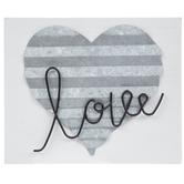Love Heart Wood Wall Decor