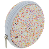 Confetti Round Earphone Case