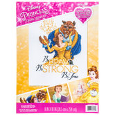 Belle & Beast Cross Stitch Kit