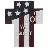 In God We Trust Cross