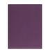 Dark Purple Textured Cardstock Paper - 8 1/2