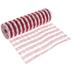 Red & White Plaid Deco Mesh Ribbon - 10