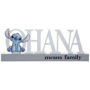 Ohana Means Family Wood Decor