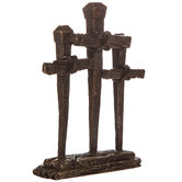 Standing Cross Trio Decor