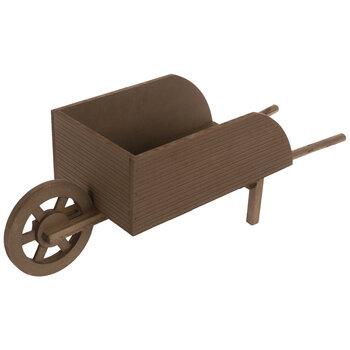 Rustic Wood Wheelbarrow