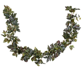 Green & Red Maple Ivy Garland