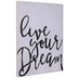 Live Your Dream Canvas Wall Decor