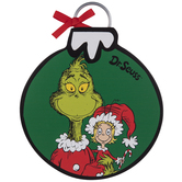 Dr. Seuss Grinch & Cindy Wood Wall Decor