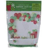 Red & Green Balloon Arch Kit