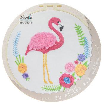 Flamingo 3D Stitch Kit