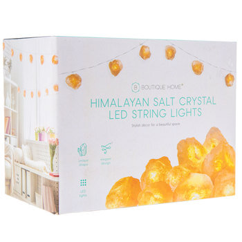 Himalayan Salt Crystal LED Lights