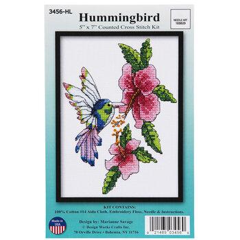 Hummingbird Counted Cross Stitch Kit