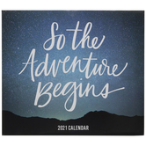 So The Adventure Begins Calendar
