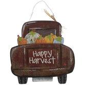 Happy Harvest Truck Wood Wall Decor
