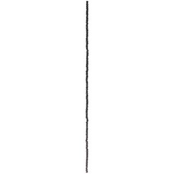 Black Gem-Cut Glass Bead Strands