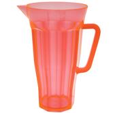 Orange Transparent Pitcher