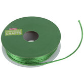 "Green Satin Rattail Cord - 1/16"""