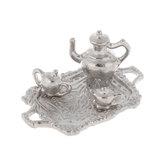 Miniature Silver Tea Set
