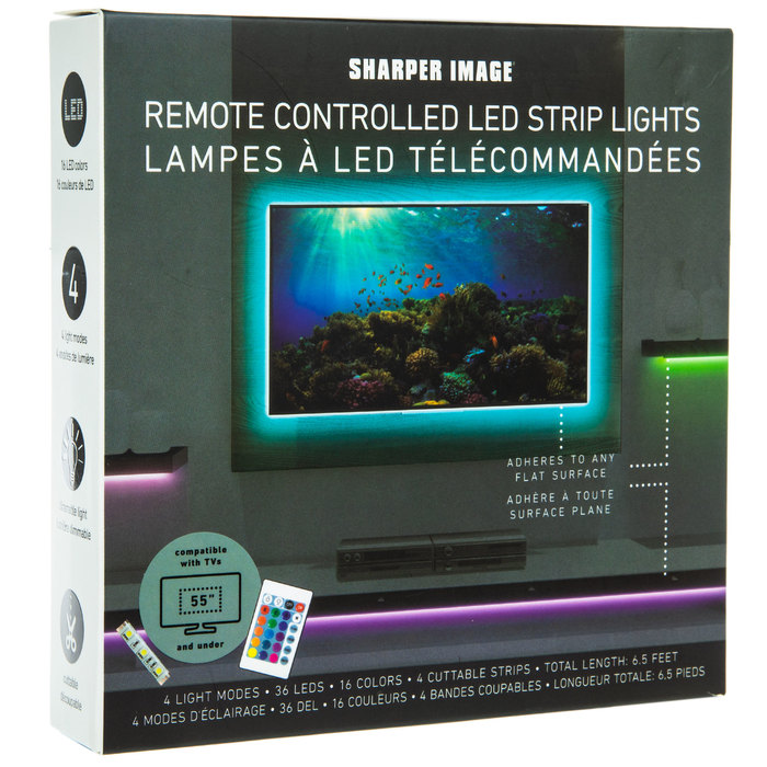 Color Changing Led Strip Lights With Remote Hobby Lobby 1831486