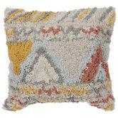 Handloom Geometric Pillow Cover