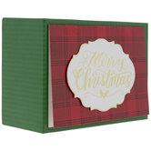 Merry Christmas Plaid Cards