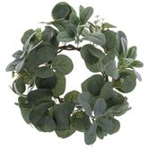 Eucalyptus & Lamb's Ear Wreath