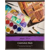 "Watercolor Canvas Paper Pad - 16"" x 20"""