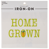 Home Grown Iron-On Applique