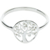 Sterling Silver Tree Ring - Size 8