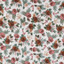 Mauve Floral Apparel Fabric