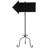 Chalkboard Arrow On Stand