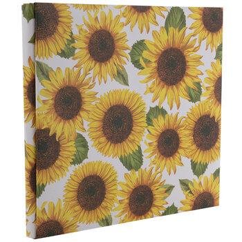 """Sunflower Post Bound Scrapbook Album - 12"""" x 12"""""""