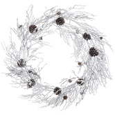 Snow Twig Wreath