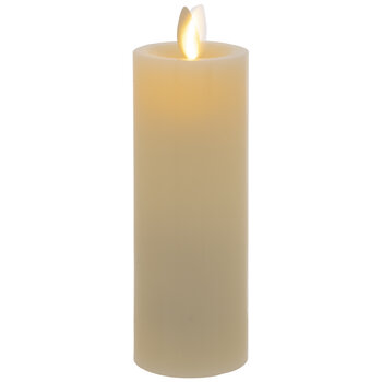 Vanilla Flickering LED Pillar Candle