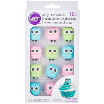 Owl Icing Decorations