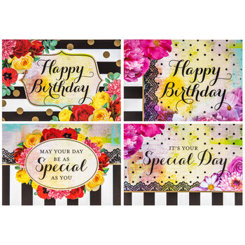 Bright Floral Birthday Cards