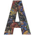 DC Superheroes Letter Wood Wall Decor - A